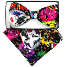 mardi gras bow tie mardi gras bow ties with matching handkerchief 5 step n style