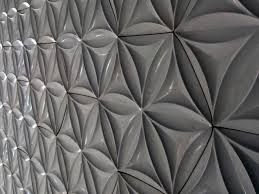modern interior design with 3d concrete wall tiles reinventing