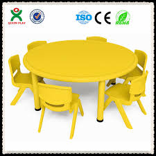 Kids Round Table And Chairs Modern Cheap Folding Study Table For Kids Kids Plastic Study Table
