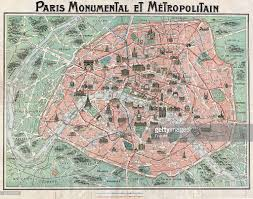 Paris Train And Metro Map by Map Of Paris Pictures Getty Images