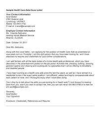 health care cover letter care cover letter example cover letter
