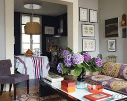 Purple Living Room by Purple Grey And Yellow Living Room House Design Ideas