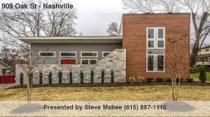 mid century modern architecture in east nashville youtube