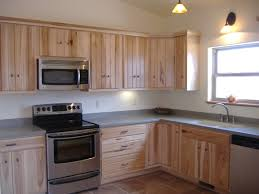 kitchen backsplash hickory cabinets interior design