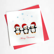 penguin hd611 quilling card