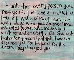 So In Love Meme - i think that every person you meet you fall in love with mea the pea