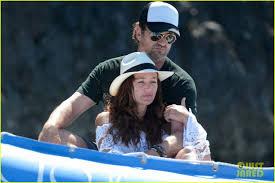gerard butler u0026 girlfriend morgan brown enjoy a romantic boat ride