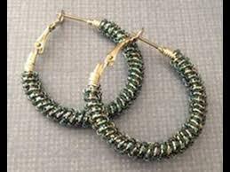 hoop beaded earrings hacker shows how to embellish hoop earrings on