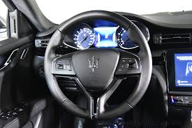 maserati steering wheel 2018 new maserati quattroporte s 3 0l at the collection serving