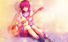 anime music girl wallpaper girls with music instruments wallpaper 1280x800 id 26119