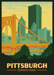 Pennsylvania travel posters images United states
