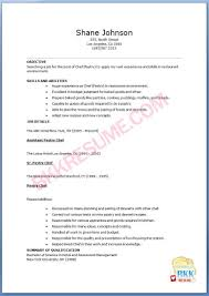 Resume Examples For Entry Level by Resume Sample Entry Level Resume No Experience Pastry Chef