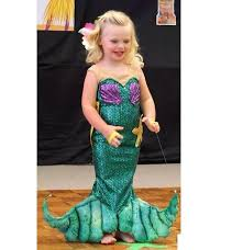 Mermaid Halloween Costume Toddler U0027s Custom Size Shimmering Ariel Mermaid Thesaltgypsy