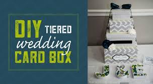 diy wedding card box tiered wedding card box project abode