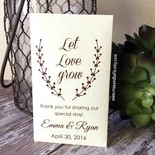 wedding seed packets wedding ideas seed packet wedding favors from plainjane w
