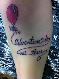 quote tattoo tumblr blogs up balloon adventure is out there tattoo eff yeah disney