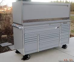 Tool Box Top Hutch Snap On Arctic Silver Krl7023 Tool Box Stainless Steel Top U0026amp