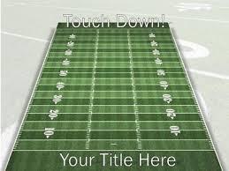 football powerpoint template splash football background