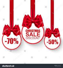 christmas bows for sale set christmas sale paper balls bows stock vector 348967862