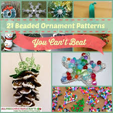 90 best beaded ornaments images on bead patterns