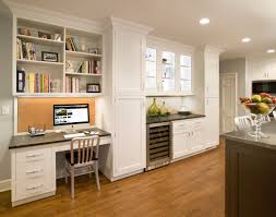 Long Corner Desk Home Office Ideas Long White Wooden Desk With Book Shelf You Are