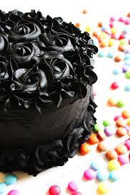 Chocolate Orange Halloween Cake