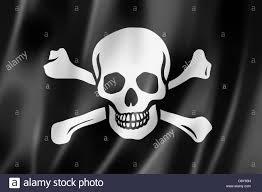 Bartholomew Roberts Flag Jolly Roger Black And White Stock Photos U0026 Images Alamy