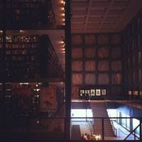 beinecke rare book and manuscript library college library in new