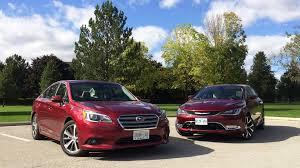 subaru awd sedan 2015 chrysler 200c awd vs 2015 subaru legacy awd limited
