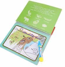 ⑥2018 Vente Chaude Portable enfants Dessin Livre Magique Coloring