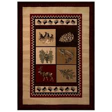 Rugs In Home Depot Smokey Mountain Beige 7 Ft 10 In X 10 Ft Area Rug