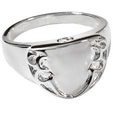 cremation jewelry rings wholesale cremation jewelry engravable shield ring