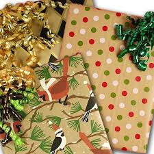 kraft christmas wrapping paper kraft wrapping paper