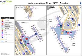 Map International Tokyo Narita International Nrt Airport Terminal Maps