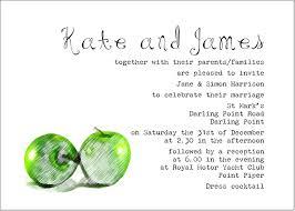 Wedding Invitation Greetings Wedding Invitation Wording From Bride And Groom Dancemomsinfo Com