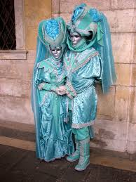 venice carnival costumes for sale venice carnival in turquoise costumes stock image image