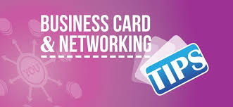 Tips For Designing A Business Card A Professional Business Card For Your Next Networking Event