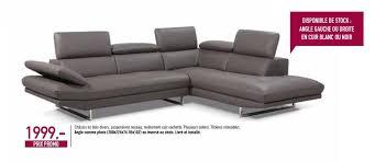 lambermont canapé meubles lambermont promotion angle comme photo ou inversé au