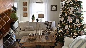 shabby chic christmas decorating ideas youtube