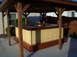 best bamboo tiki bar u2014 best home decor ideas build bamboo tiki bar