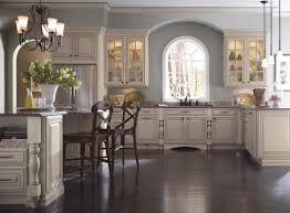glazed white kitchen cabinets kitchen decoration