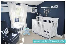 Navy Nursery Decor The Wood Wall Boys Baby Nursery Designs In Nautical Theme