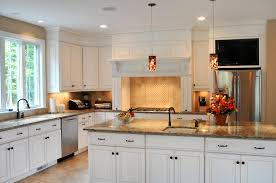 tv in kitchen ideas kitchen island with tv kitchen cabinets remodeling net