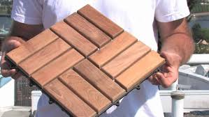 Wood Patio Flooring by Floor How To Install Interlocking Deck Tiles For Interior Or