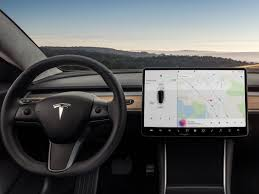 tesla model 3 minimalist interior again business insider