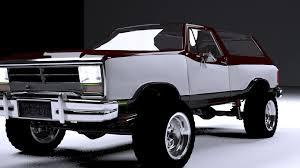 Dodge Ram Models - 3d dodge ramcharger 1980 truck cgtrader