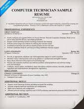 Computer Technician Sample Resume by Album Google