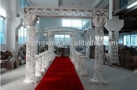 wedding mandaps for sale hot sale white fiber wedding mandap decoration wedding