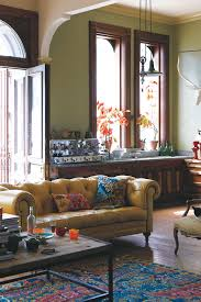 living room ideas with chesterfield sofa anthropologie atelier chesterfield sofa yellow home sweet home