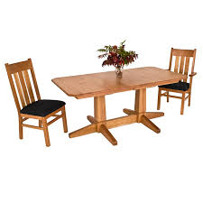 Dining Room Table Pedestal Rectangle Pythonet Home Regarding New - Dining room table pedestals